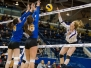 Western versus UBC, women's volleyball, 17 March 2017