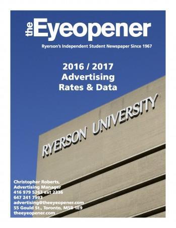 The Eyeopener 2016-2017 Media Kit