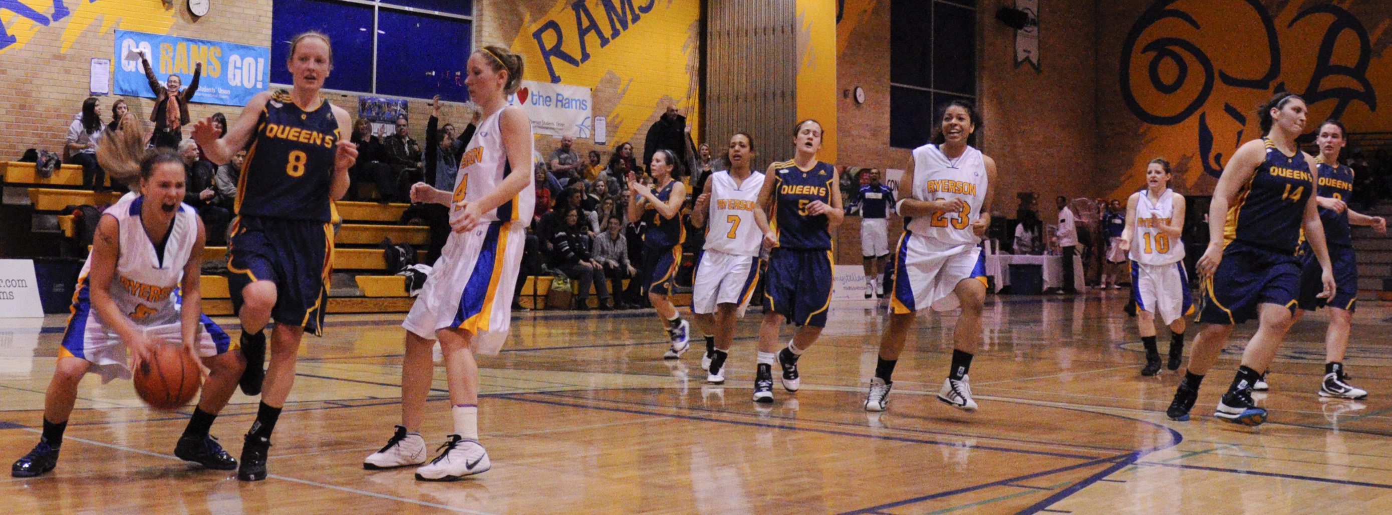 Women's Basketball Recap: Rams rally in second half to stun Gaels for O.T. win