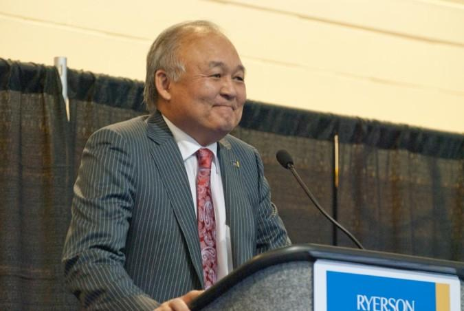 Former Ryerson Chancellor Raymond Chang.