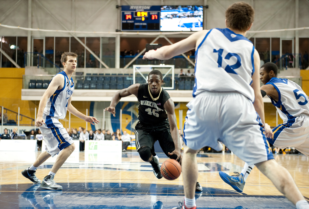 Rams lose close game against NCAA's Wake Forest