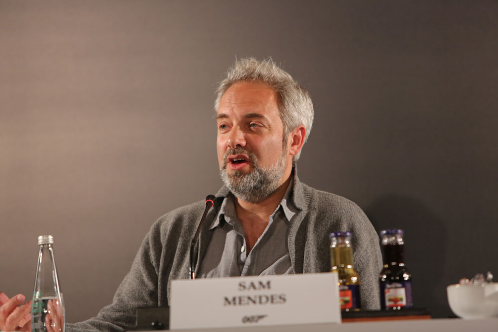 Conference call with Mendes. Sam Mendes.