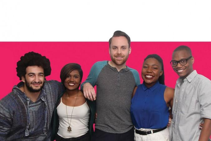 Unite Ryerson executive candidates. Photo Courtesy Unite Ryerson/Facebook