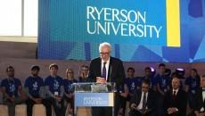 Ryerson's president Sheldon Levy