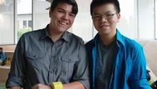HelpWear co-founders Andre Bertram, left, and Frank Nguyen. By David Lao