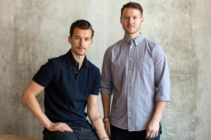 Tyler Handley, left, and Braden Handley, founders of Inkbox. PHOTO COURTESY TYLER HANDLEY