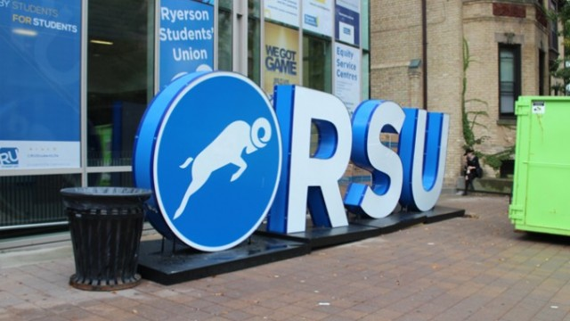 The new RSU sign. PHOTO: Farnia Fekri