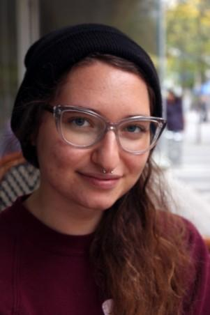 Jackie Mlotek, co-founder of the Ryerson Feminist Collective. Photos: Dylan Freeman-Grist
