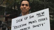 Kevin Arriola, fourth-year politics and governance student, is proposing a men's issues awareness group on campus. PHOTO: Al Downham