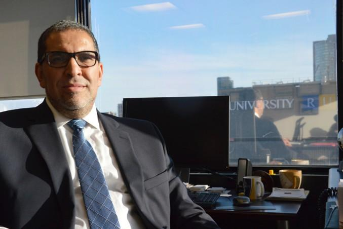 Mohamed lachemi, current provost and vice-president academic. PHOTO: SIERRA BEIN
