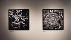 William Davis and Michael Markieta: Geographies of Urban Form (installation view), 2015 © Riley Snelling, Ryerson Image Centre. PHOTO COURTESY: ERIN WARNER