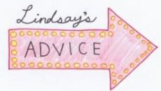 Lindsay's Advice