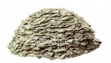 A pile of money.