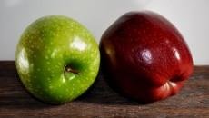 Apples because apples are healthy, right? photo courtesy: Wikimedia Commons