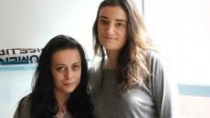 Viktoria Bitto (left) and Jenna Davies. PHOTO: Alanna Rizza
