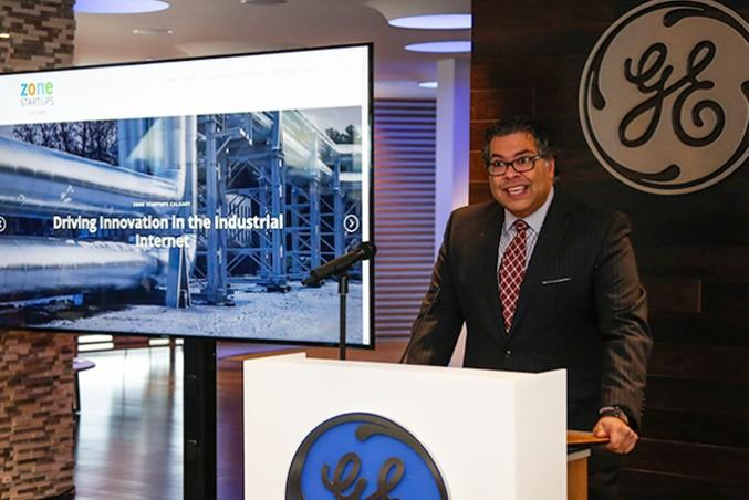 Calgary Mayor Naheed Nenshi at the ZSC launch. PHOTO Courtesy: Matt Saunders