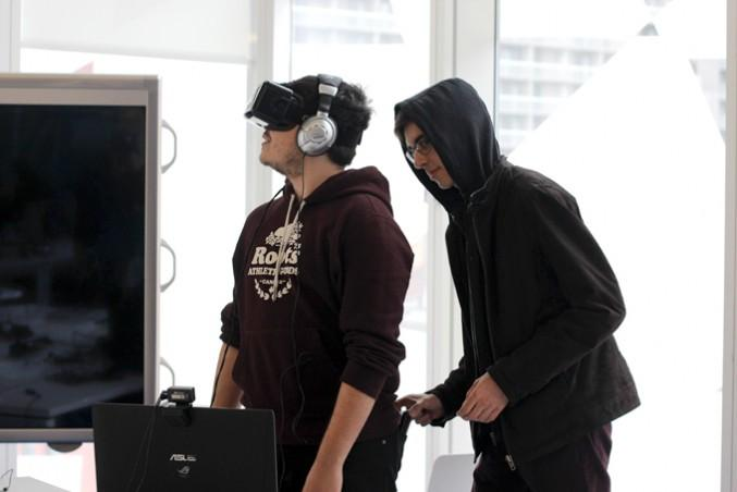 Using an Oculus Rift could allow the company to steal your information. And your wallet. Not really. PHOTO: CHRIS BLANCHETTE