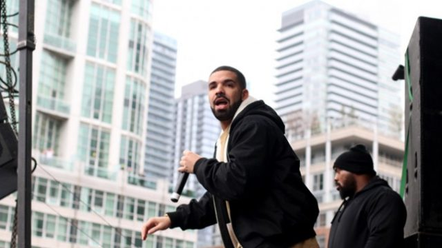Drake played a Ryerson concert in May. FILE PHOTO