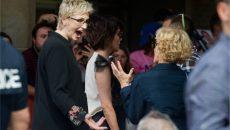 Jane Lynch, having fun! PHOTO: ANDREJ IVANOV