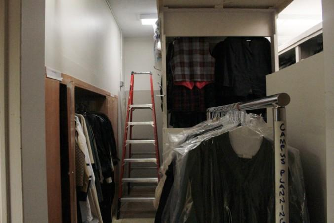 Kerr Hall West change room is being used for Ryerson theatre students. PHOTO: DEVIN JONES