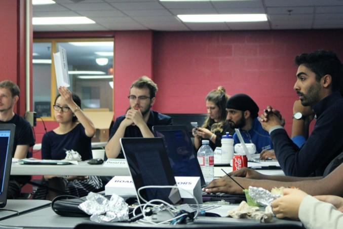 CFS discussions have everyone looking tense. PHOTO: IZABELLA BALCERZAK