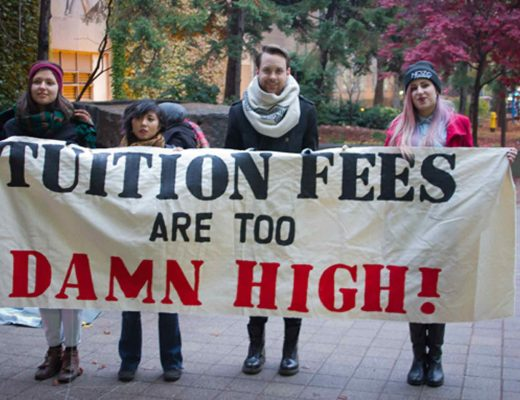 Fighting for access to education at Ryerson isn't new. PHOTO: STEPHEN ARMSTRONG