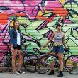 The Bad Girls Bike Club co-creators, Claire McFarlane and Lavinia Tanzim. PHOTO COURTESY: BAD GIRL BIKE CLUB