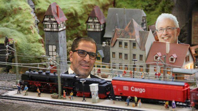 Lachemi enjoys model trains.