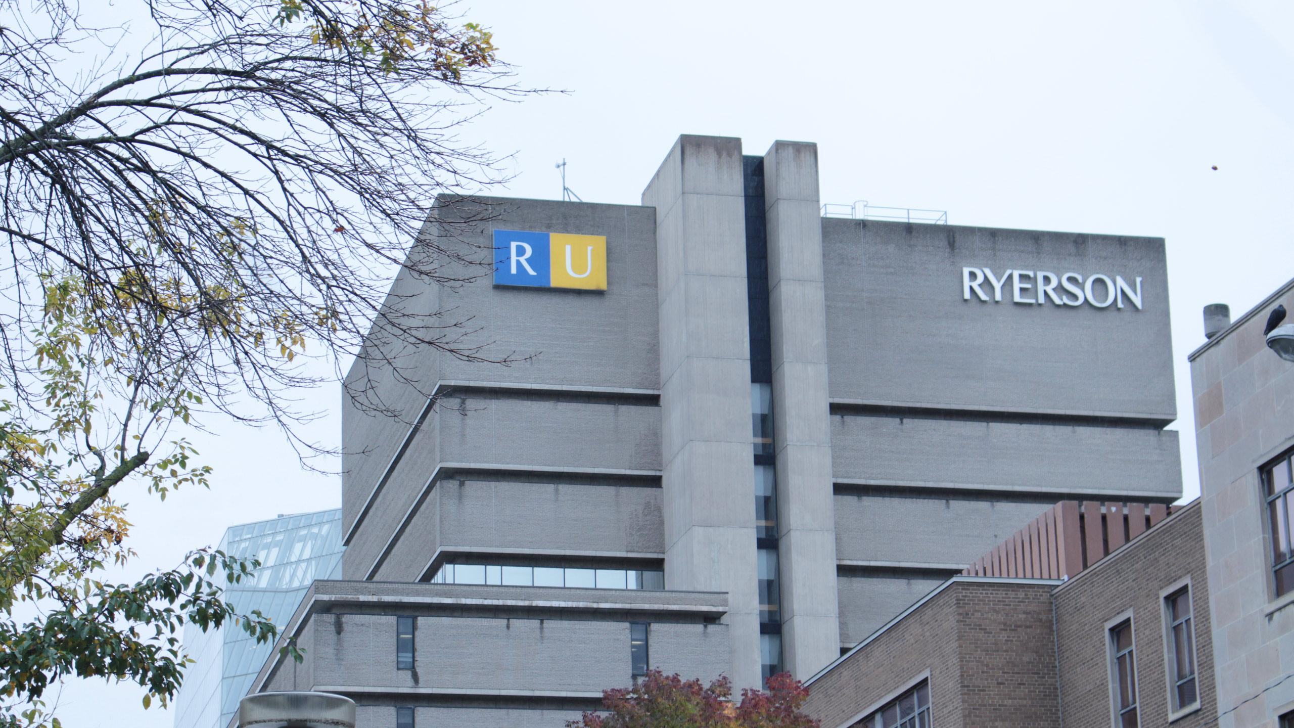 Ryerson campus. FILE PHOTO