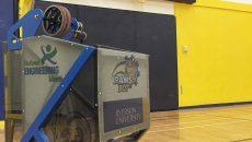 The RamsBot. PHOTO COURTESY MICHAEL MARMETO