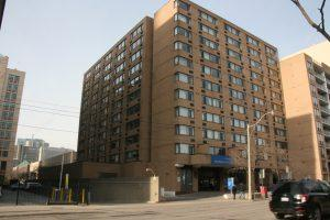 Photo of the ILLC residence on Ryerson campus