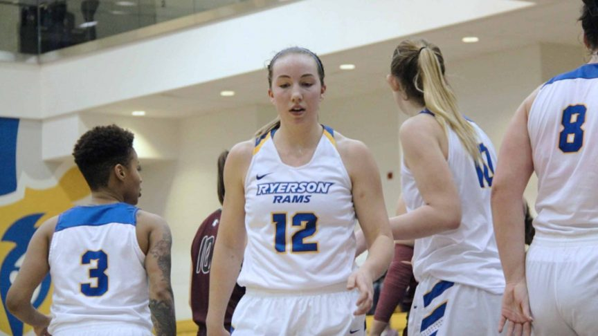 After losing to Ryerson in last year's OUA Final, Kellie Ring is powering the women's basketball team's title defence. PHOTO Izabella Balcerzak