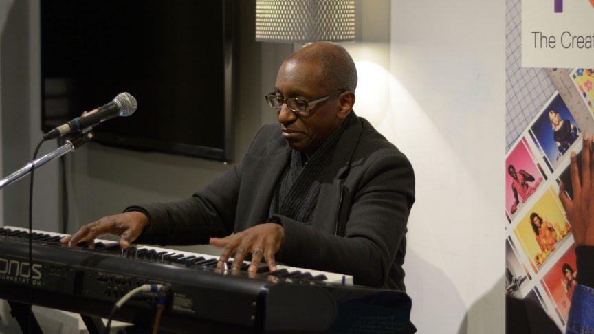 Greg Phillinganes playing piano