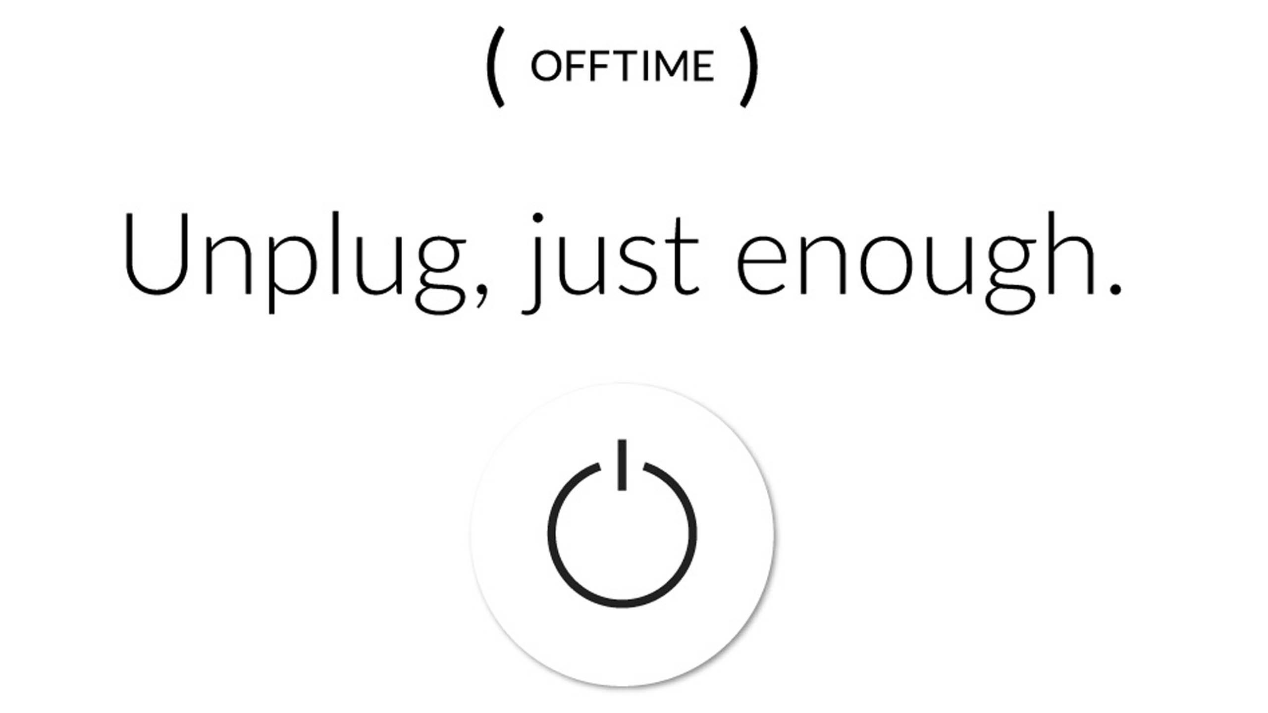 App of the Week: OFFTIME - The Eyeopener