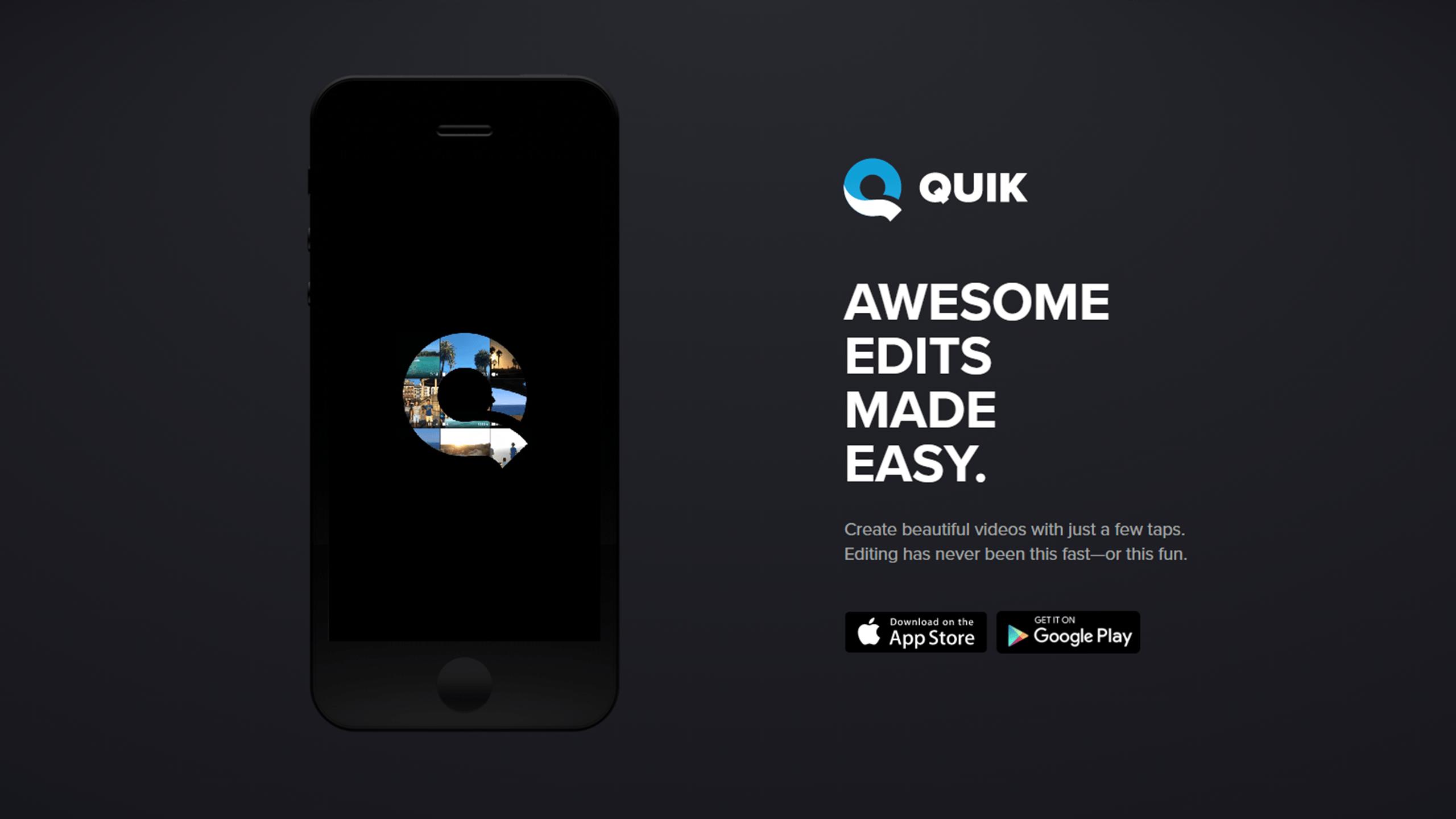 App of the Week: Quik – The Eyeopener