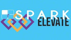 The Spark and Elevate logos. ILLUSTRATION Devin Jones