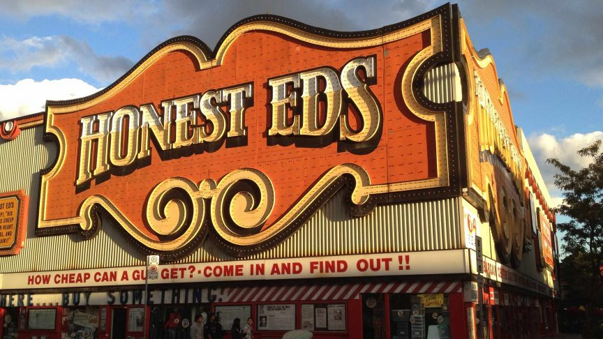 Honest Eds recently closed down. Photo: Michael Mayer