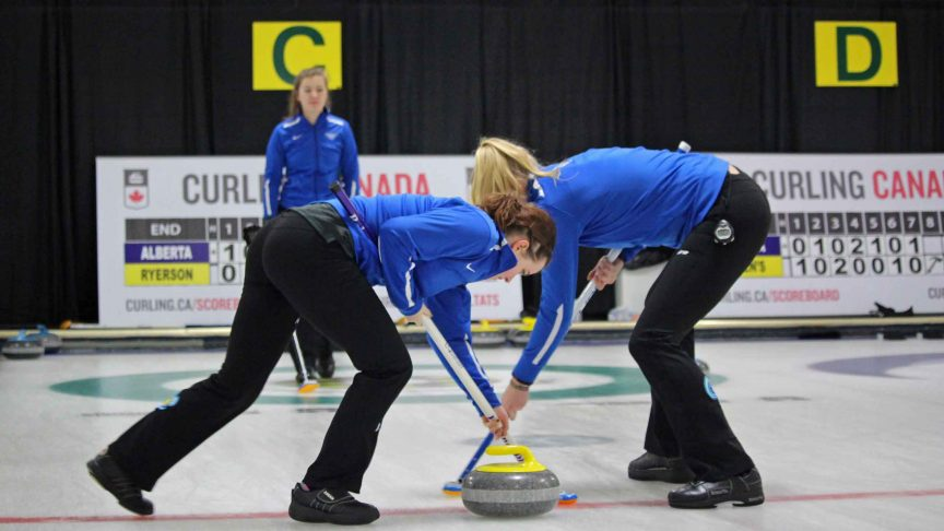 Two curlings sweep the ice