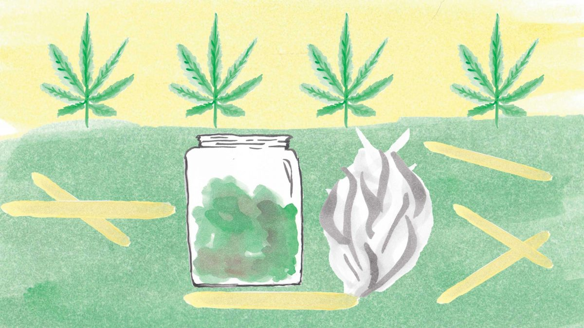 With marijuana legalization just under a year away, what will happen to the medicinal users when their supplies are controlled by the government? ILLUSTRATION BY SKYLER ASH