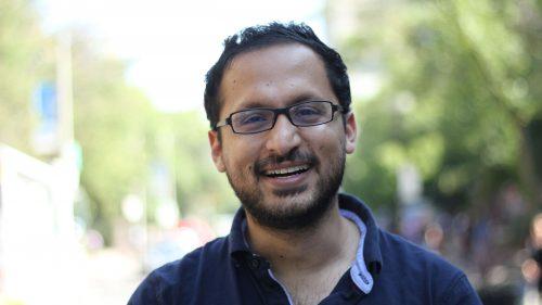 Ali YOusaf smiling