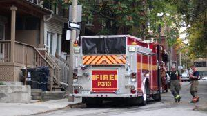 Toronto Fire Services responded to the scene at 189 Mutual St. PHOTO SARAH KRICHEL