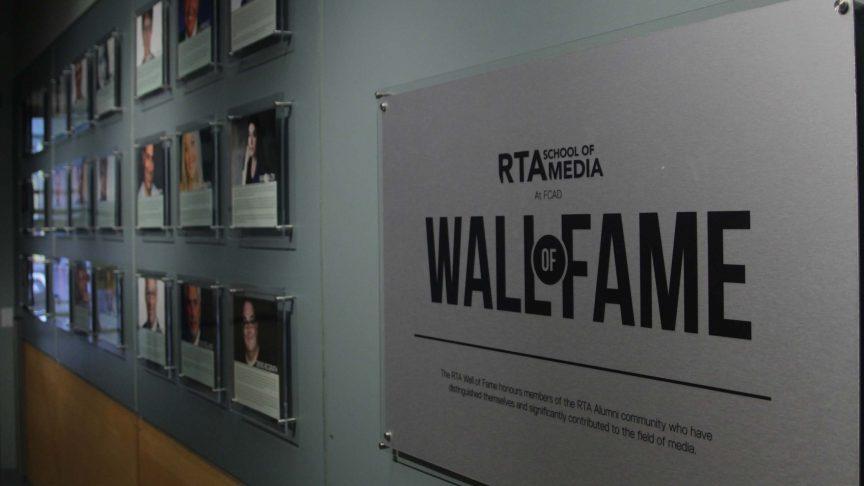 Ryerson's rta school of media Wall of Fame