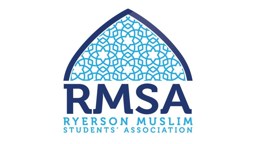 The logo for the Ryerson Muslim Students' Association.