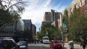 Ryerson campus is shown.