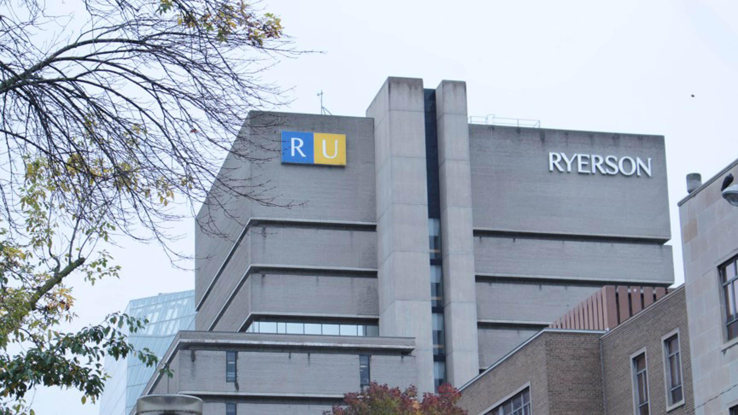 Ryerson building.