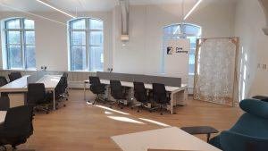 Inside the Centre for Urban Innovation.