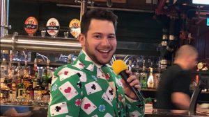 Danny Mags hosting Bingpot Trivia at 3 Brewers Liberty Village
