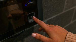 An RSU fingerprint scanner.