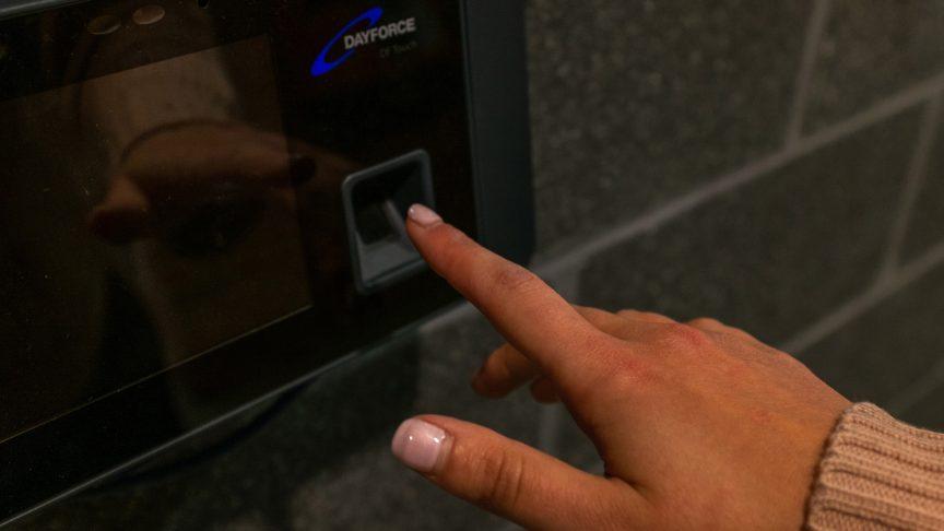 An RSU fingerprint scanner.
