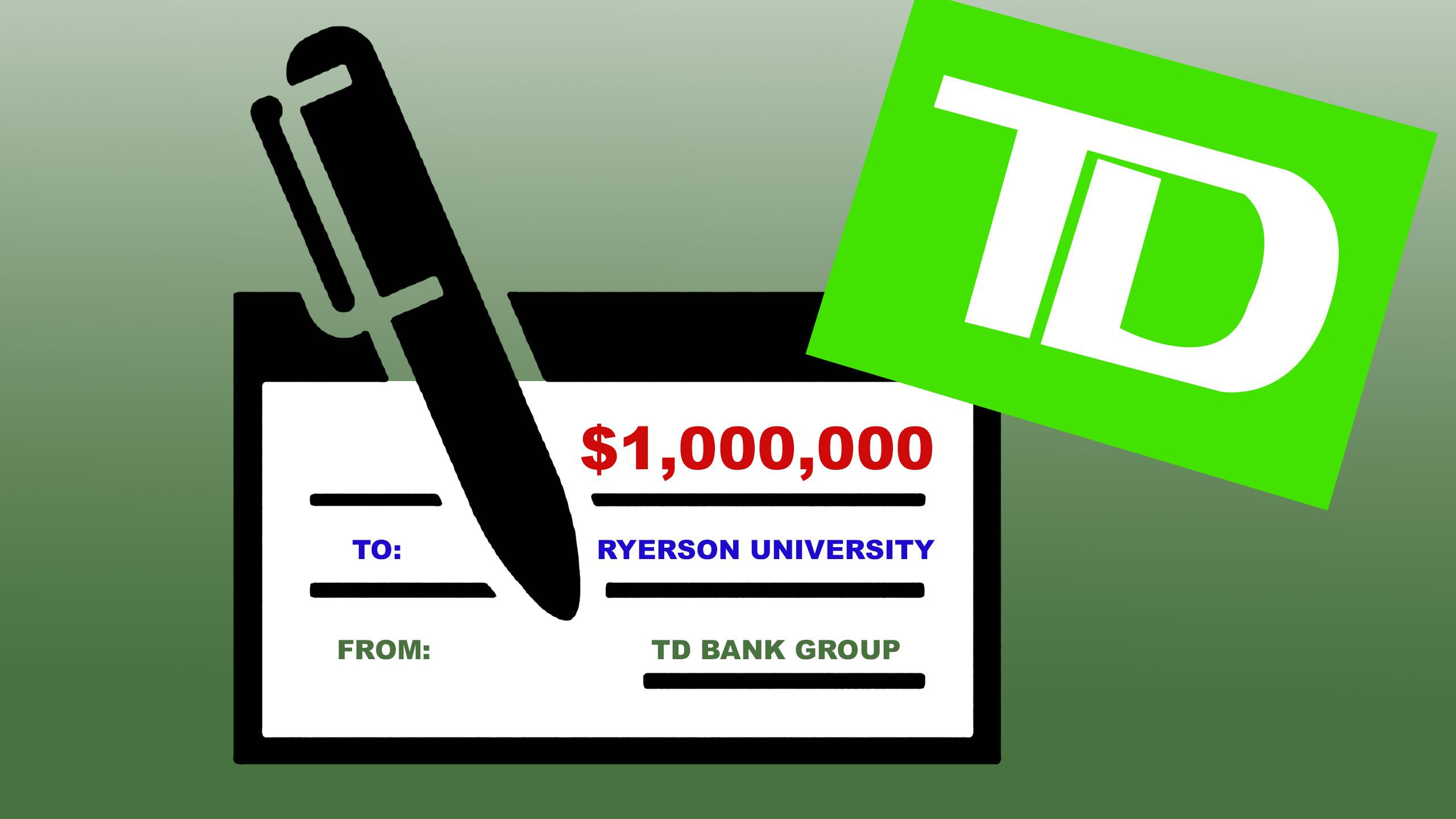 TD Bank 'spans the gap' with $1M donation to support Ryerson
